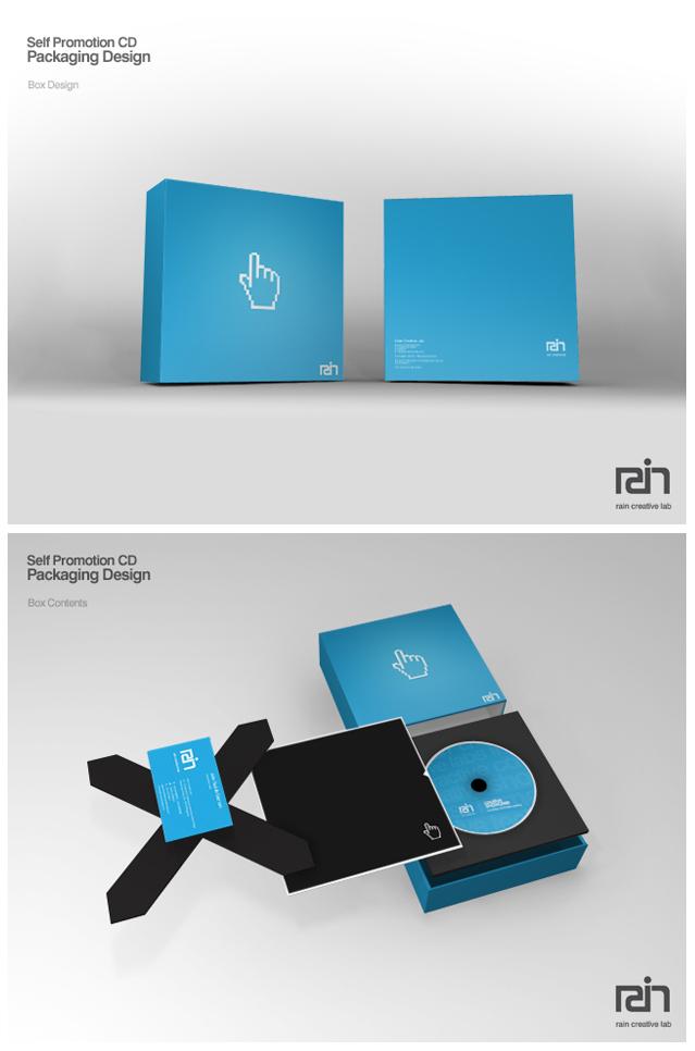 Rain Creative - Promotional CD by jpdguzman