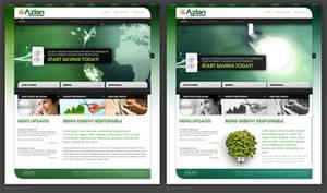 Azlan: Website Design Studies by jpdguzman