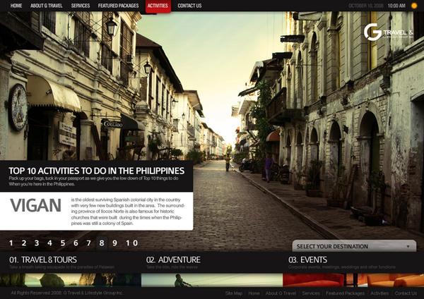 G Travel Website 2