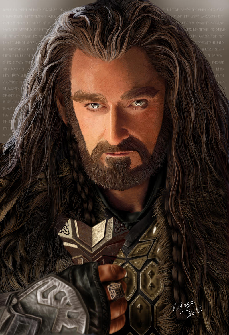 Thorin Oakenshield - King Under The Mountain by Ondjage