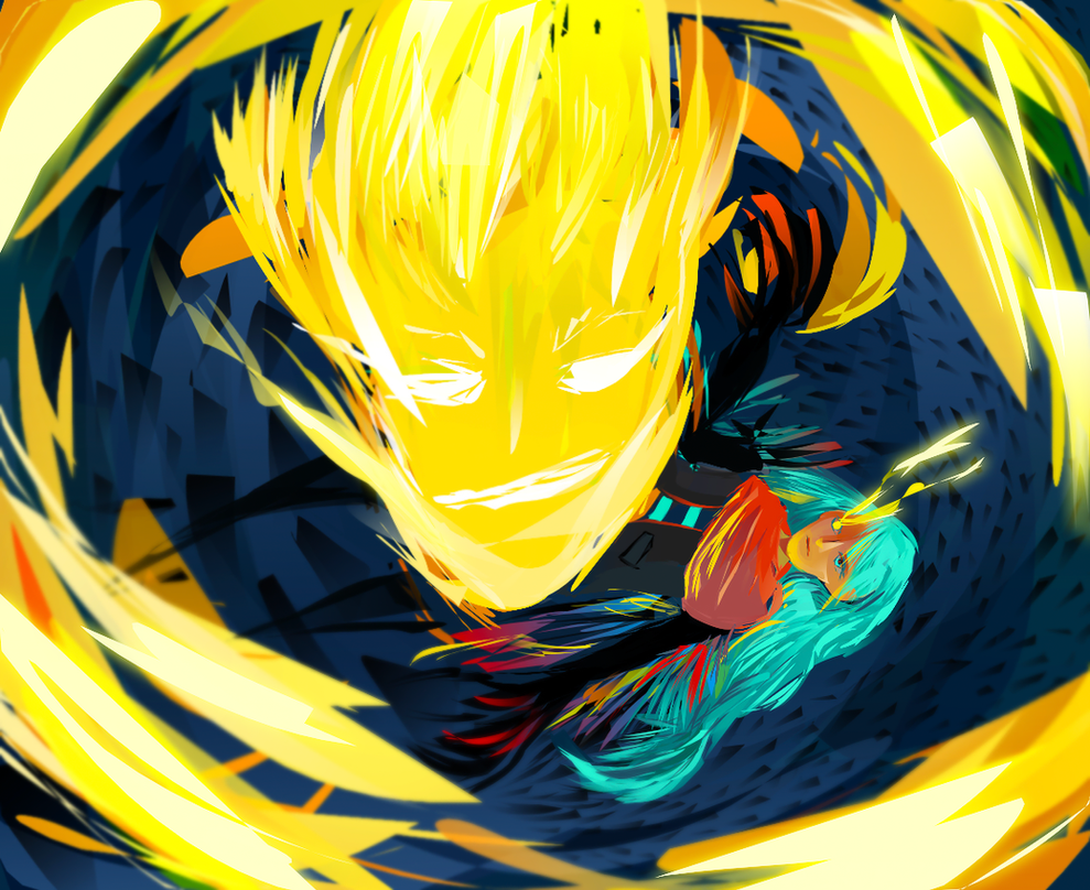 Lucifer and a random crow by 35Kizu