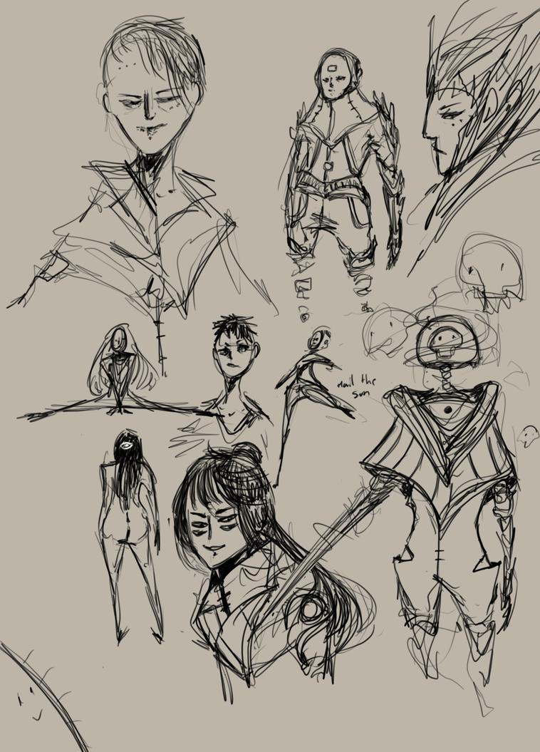 Sketches by 35Kizu