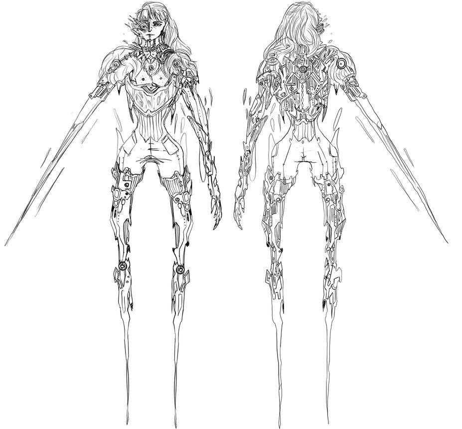 Mister Swordman by 35Kizu