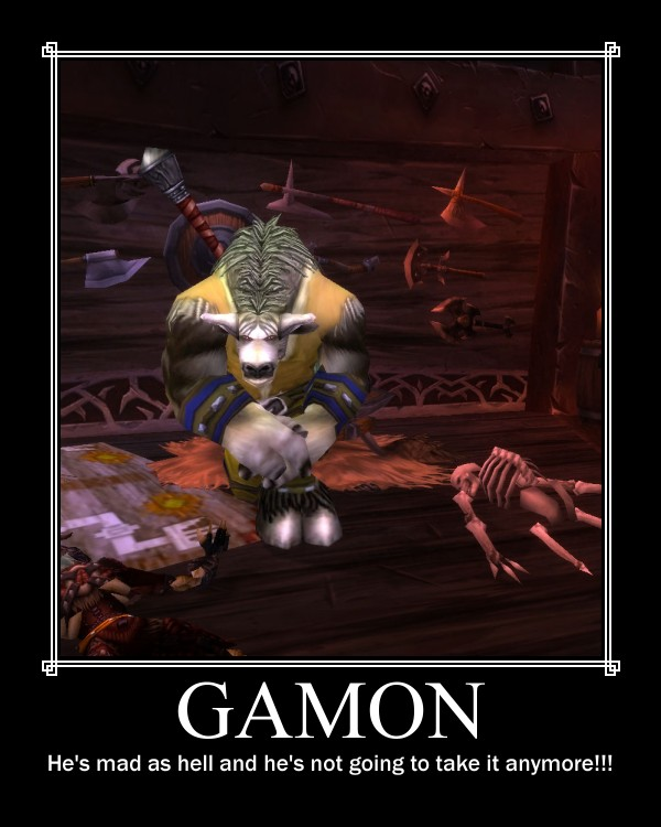 Gamon by Zolf-Kun