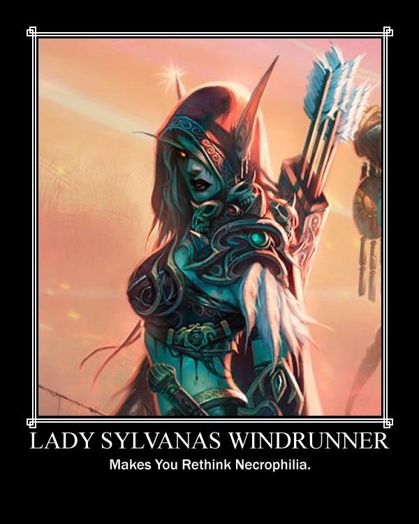 Lady Sylvanas by Zolf-Kun