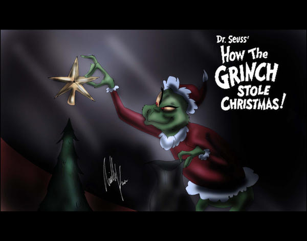 How the Grinch Stole Christmas by Arielle-Kasa