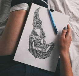 Skeleton by Gvinevra38