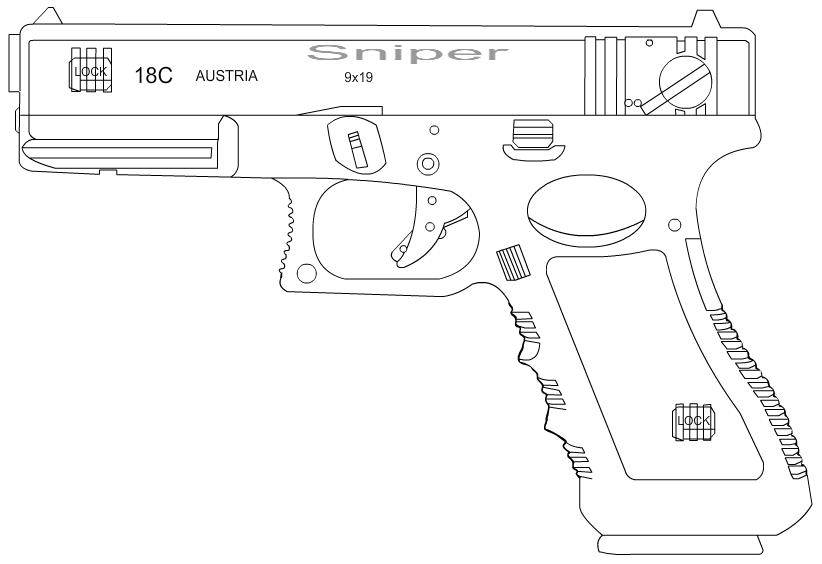 glock 18 c by netvideotube on deviantart