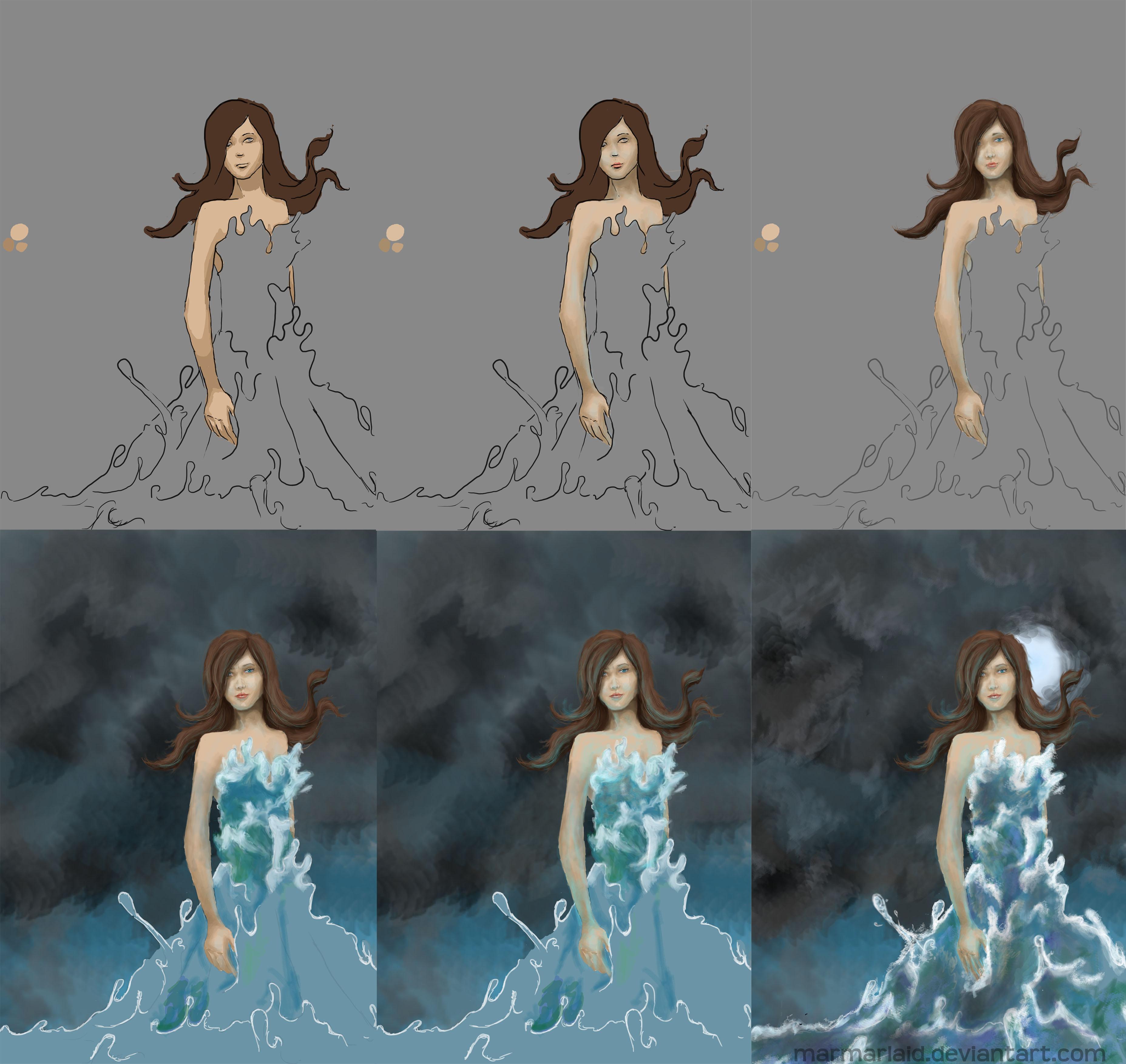 soul of ocean - progression by marmarlaid