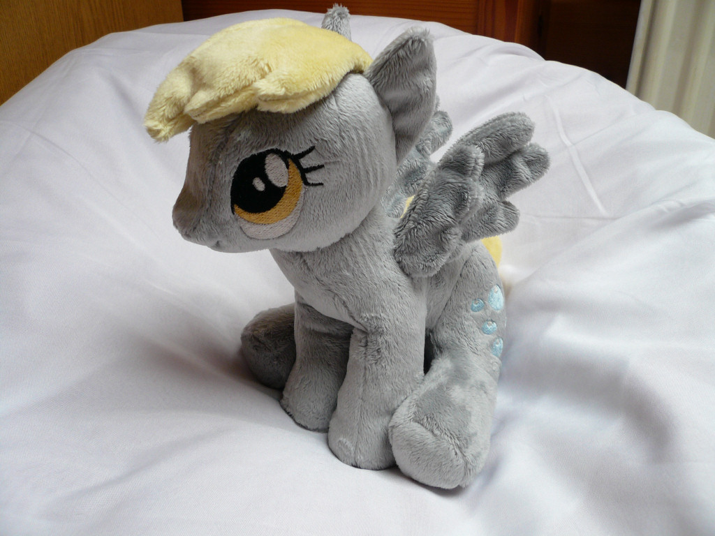 (Sitting) Derpy Hooves Plushie
