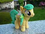 Dawn Chaser Plushie (OC Pony)
