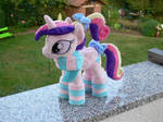 Foalsitter Cadence with socks and scarf