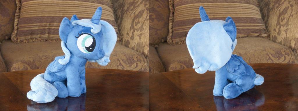 (Filly) Princess Luna (sitting) plushie by navkaze