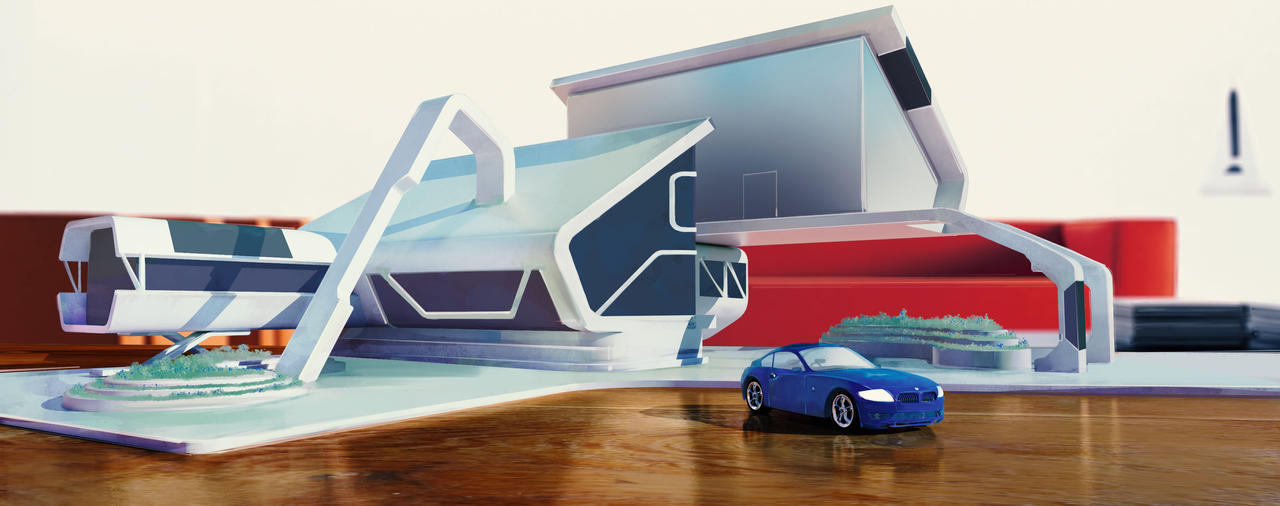 MPC, BMW The Next 100 Years, House Design by CharlesEJD