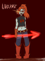 Undyne the Fallen by Kaitogirl
