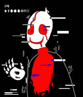 Underfell - Gaster by Kaitogirl