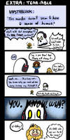 Underfell Extra - Tear-able pun by Kaitogirl