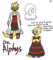 Doctor Alphys by Kaitogirl