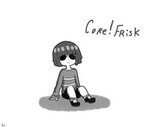 Core!Frisk by Kaitogirl