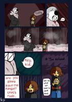 Underfell - Snowdin - 13 by Kaitogirl