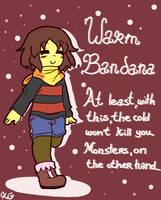Underfell equipment - Warm Bandana by Kaitogirl