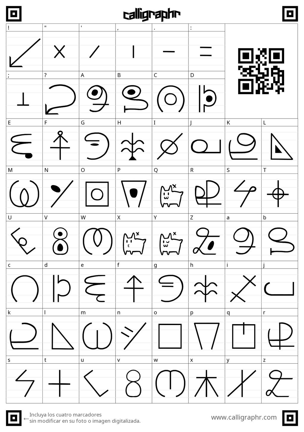 Monster Alphabet Template By Kaitogirl On Deviantart
