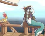 Mermay 2020 - Week 1 - Pirate