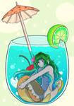Mermay 2020 - Week 3 - Lemonade mermaid