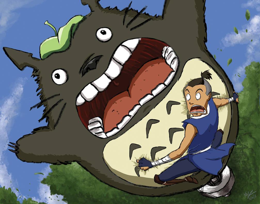 30 Day Meme: Sokka and Totoro
