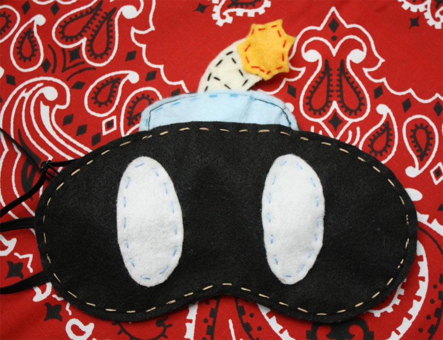 Ba-Bomb Sleep mask by Rekslare