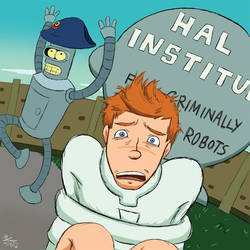 Fry the Criminally Insane Robot by Rekslare