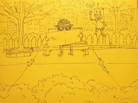 Card Envelope Drawing