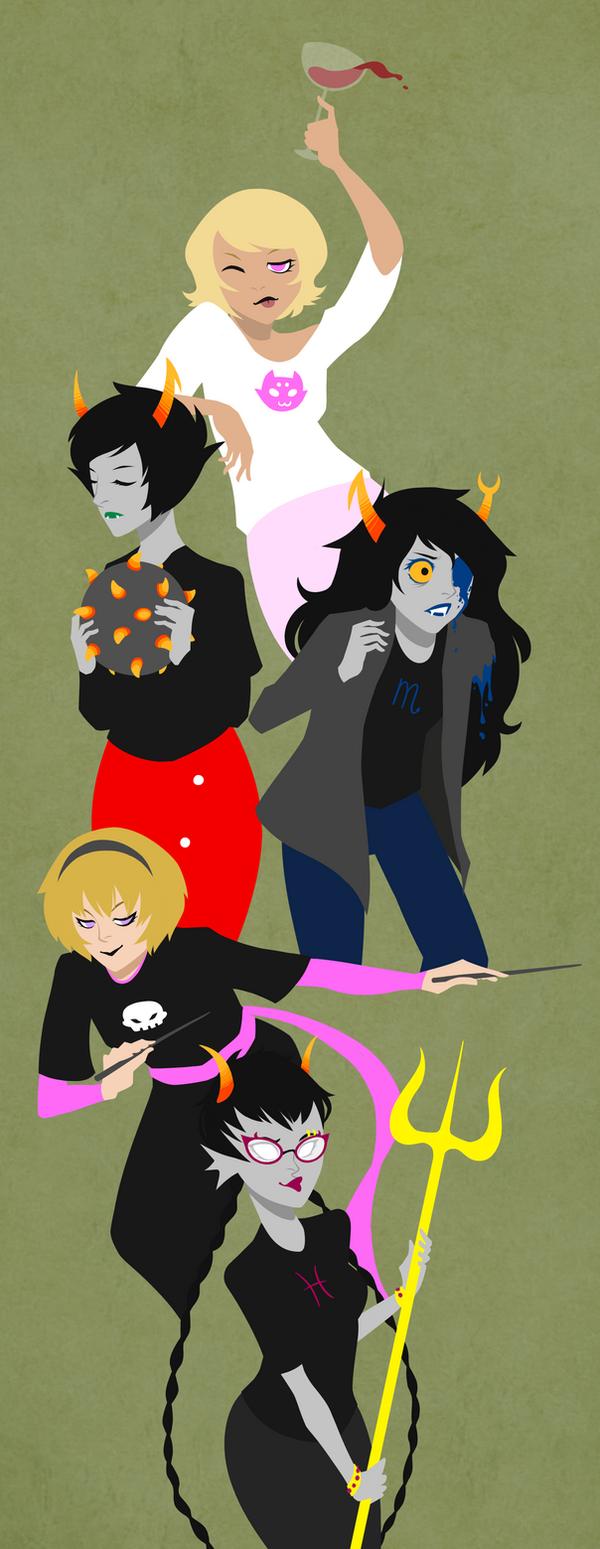 hello ladies by VeniceLatte