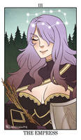 Fire Emblem: Fates Tarot - III. The Empress