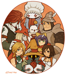 FFIX - Together by VeniceLatte