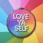 New PDF Pattern Available | Love Ya Self by loonycornembroidery