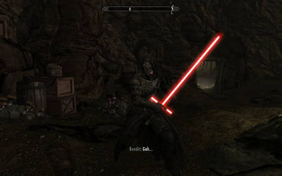 The Dark Side is strong in this one.....