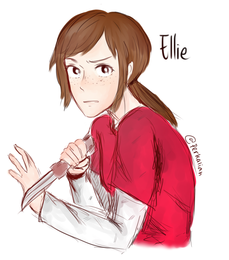 20141116: uh oh ellie by perkalian