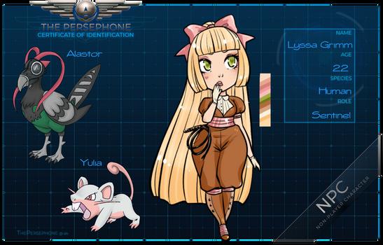 [TP] Lyssa Grimm - Sentinel NPC