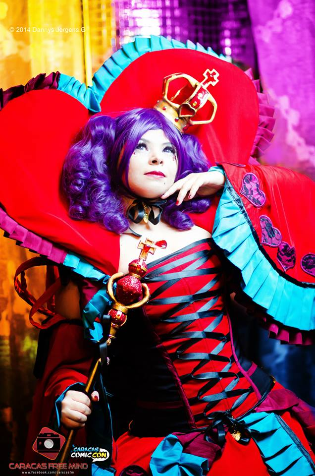 Vivaldi Queen of Hearts (Caracas Comic con) by Gerlequine-Seigen