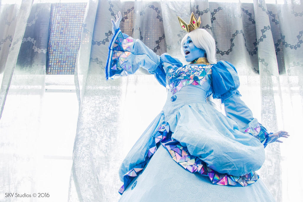 Ice Queen Adventure Time by Gerlequine-Seigen