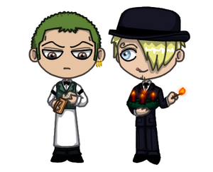 Adventcalendar 2019 - Day 22 - Zoro x Sanji