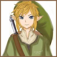 Link - The Legend of Zelda by MissWhatEver07