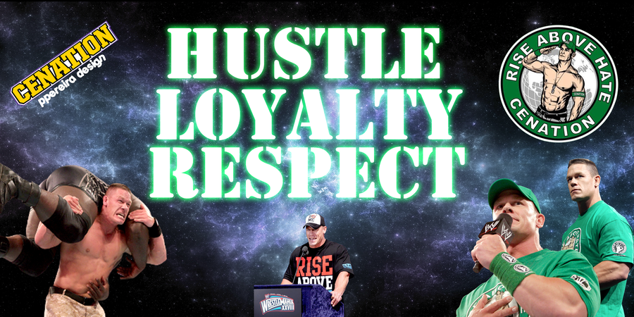 John Cena Hustle Loyalty Respect 2013 Traffic Club