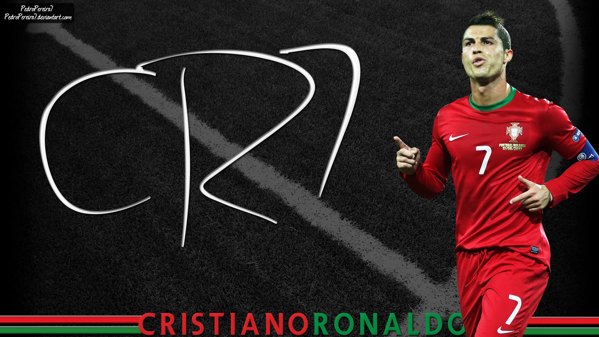 Cristiano Ronaldo 7 by PedroPereira7 on DeviantArt