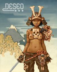 Samurai Girl 2 by DESEO-ONE