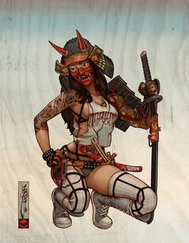 Samurai Hanya Mask