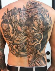 Kali back piece