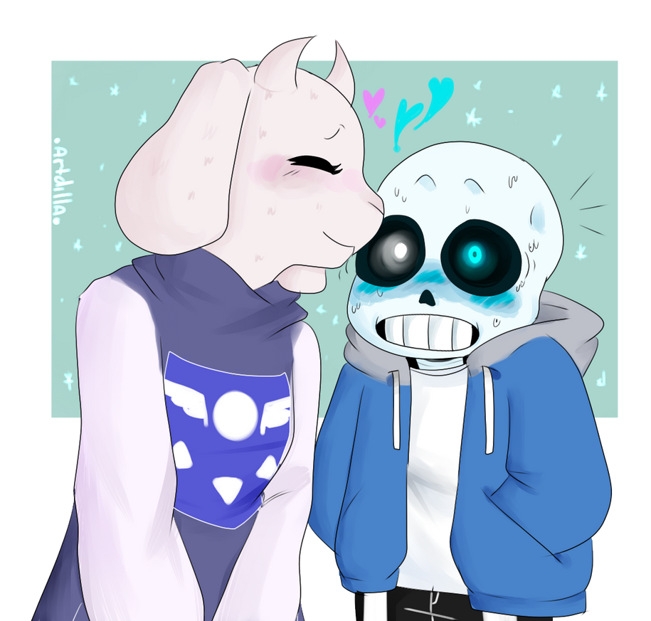 My Babies [Sans and Toriel - Undertale] by CamiiStyles