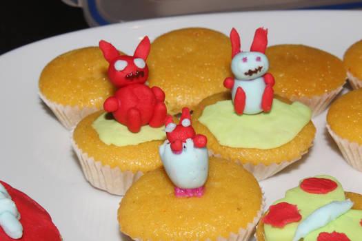 Zombie easter bunnies